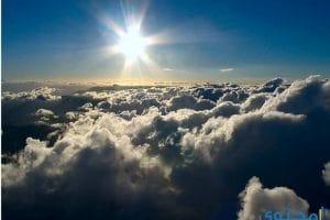 تفسير رؤية الغيوم في المنام