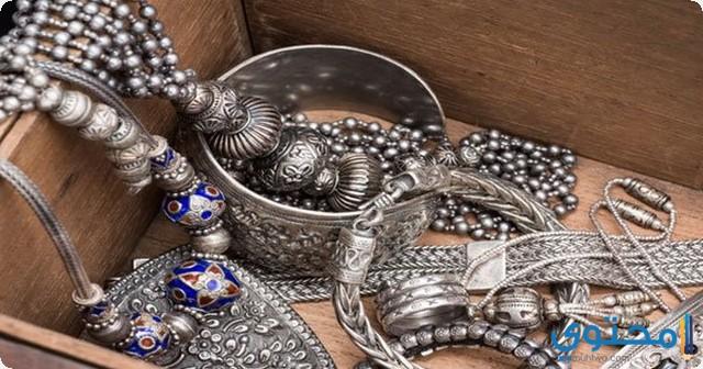 الفضة في المنام