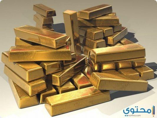 رؤية الذهب في الحلم