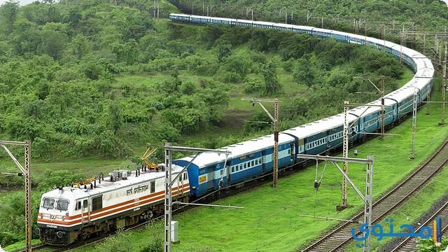 السفر عبر القطار في المنام