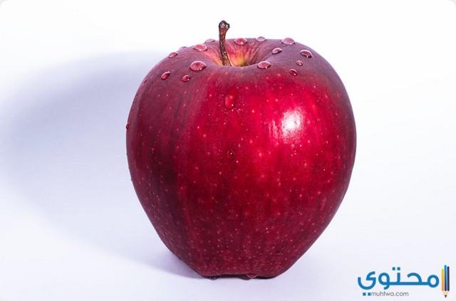 التفاح في المنام