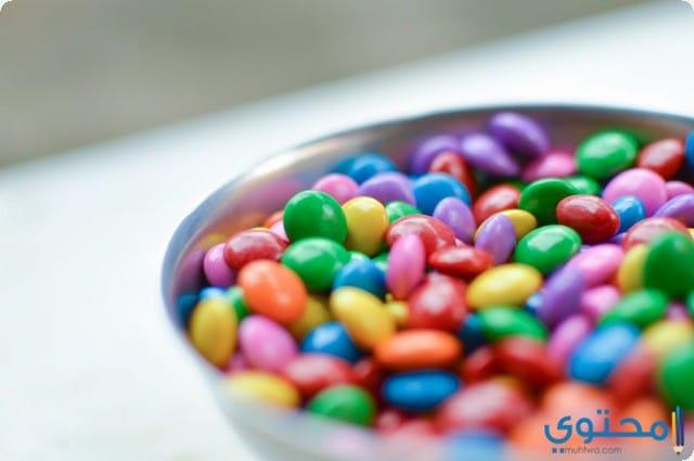 اكل الحلويات في المنام