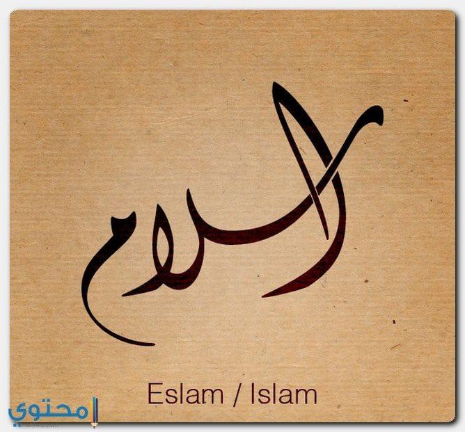 حكم الشرع في تسمية إسلام