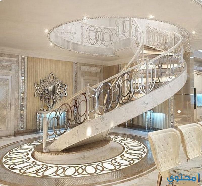 47b513842 أحدث ديكورات السلالم 2019 - موقع محتوى