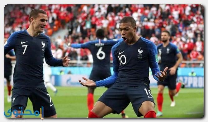 لاعبي المنتخب الفرنسي