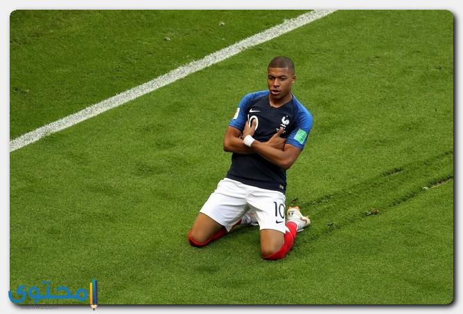 مهاجم المنتخب الفرنسي