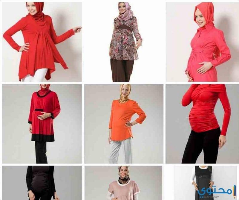 صور اجمل ملابس الحوامل صيف 2021 - موقع محتوى