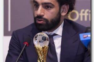 ارقام وجوائز محمد صلاح 2018