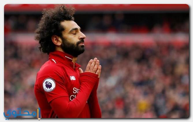 محمد صلاح يعتلي ترتيب هدافي الدوري الإنجليزي
