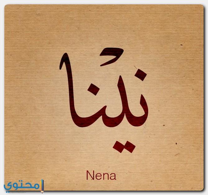 معنى اسم نينا