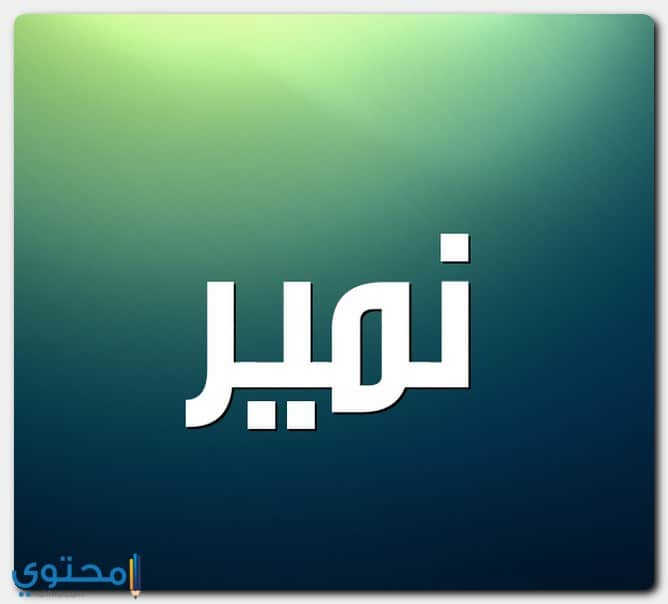 معنى اسم نمير Namir بالتفصيل