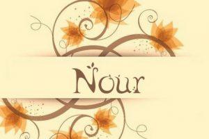 معنى اسم نور Nour بالتفصيل