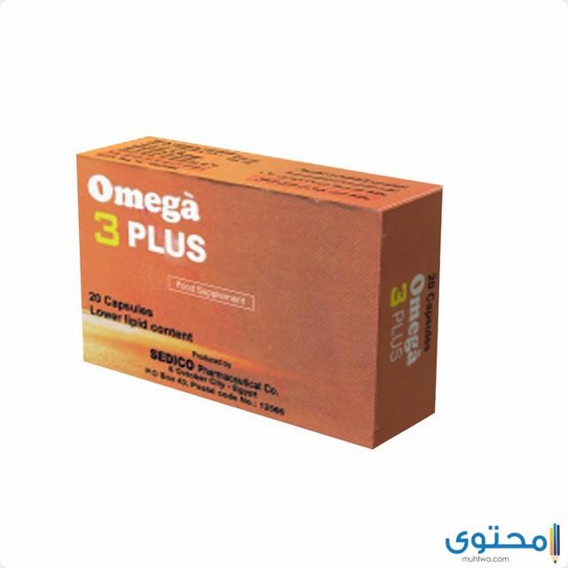 ما هي دواعي استعمال أوميجا 3 بلس