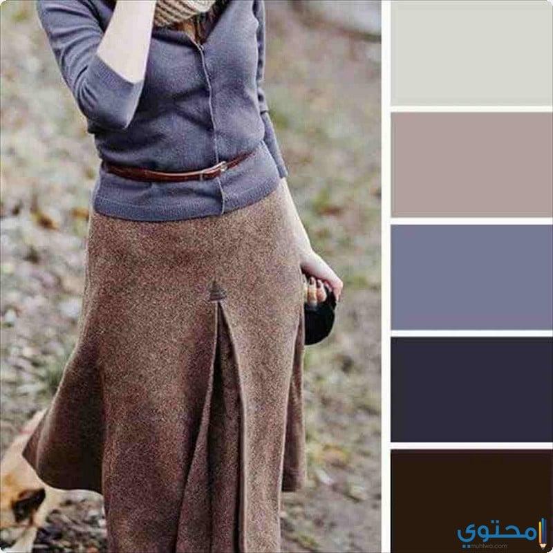 إحتراف تنسيق ألوان الازياء والملابس - موقع محتوى