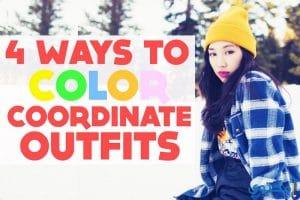 إحتراف تنسيق ألوان الازياء والملابس