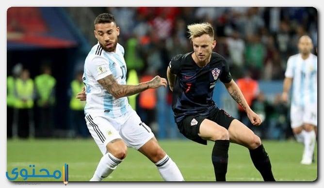 كرواتيا ضد الأرجنتين