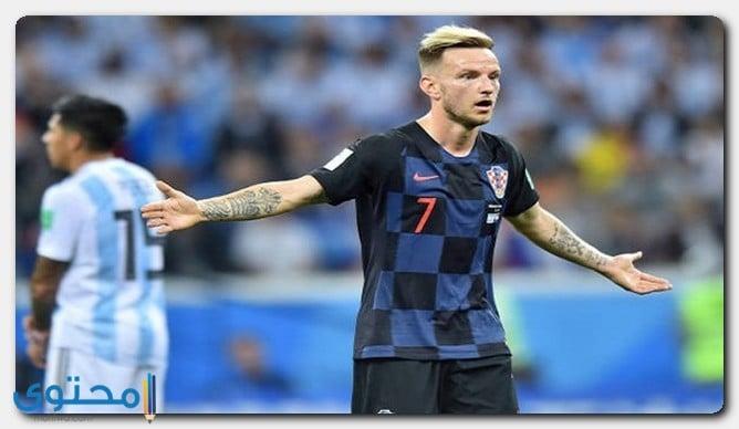 فوز كرواتيا على الأرجنتين