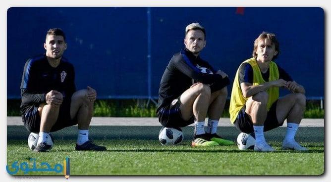 لاعب المنتخب الكرواتي