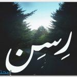 معنى اسم رسن Ressin بالتفصيل