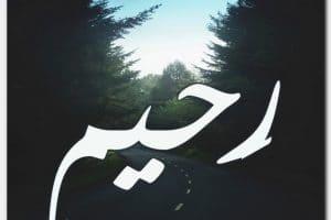 معنى اسم رحيم وحكم التسمية به