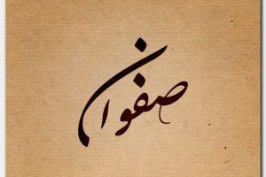 صفات ومعنى اسم صفوان