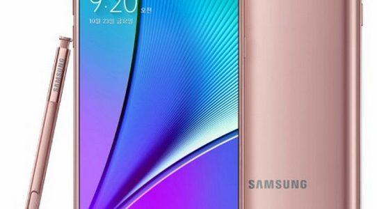 مواصفات هاتفSamsung Galaxy Note 5