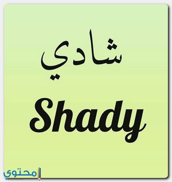 اسم Shady