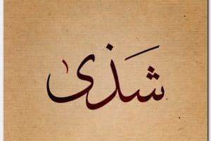 معنى اسم شذى Shatha بالتفصيل