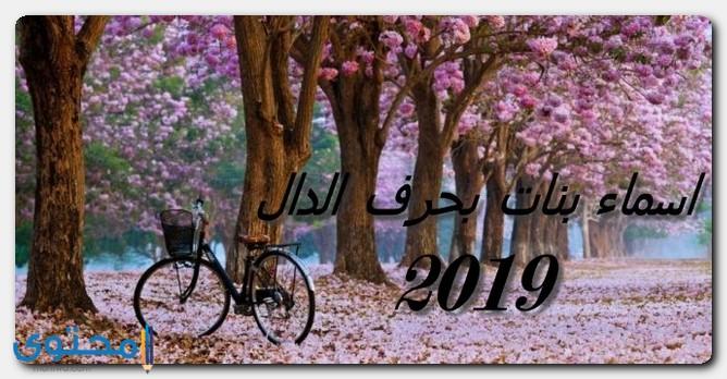 اسماء بنات 2019 بحرف الدال جديدة