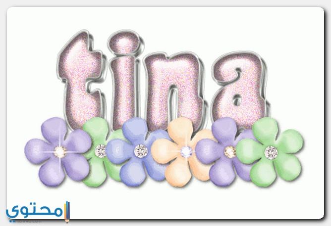 اسم تينا