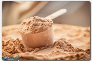 فوائد وأنواع الواي بروتين لزيادة العضلات