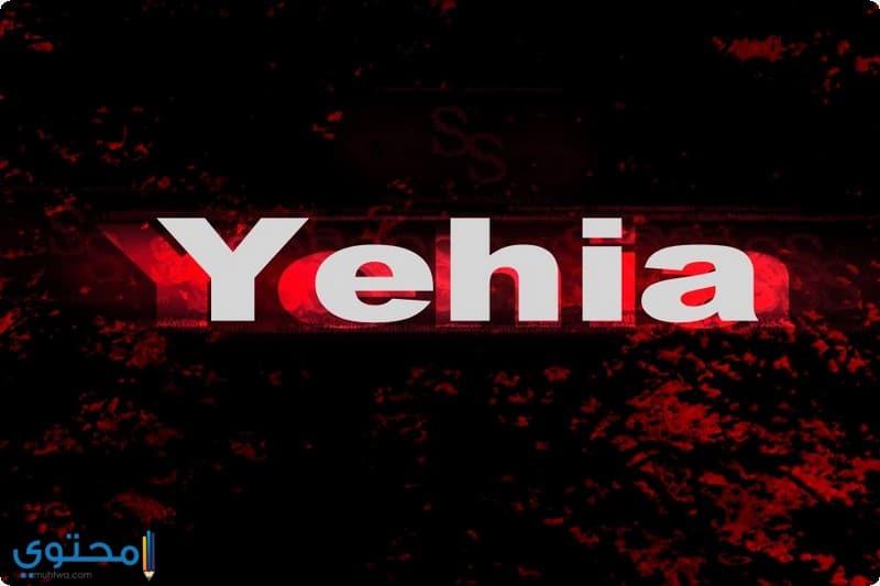 معنى اسم Yehya