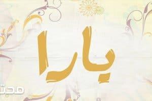 معنى اسم يارا Yara بالتفصيل
