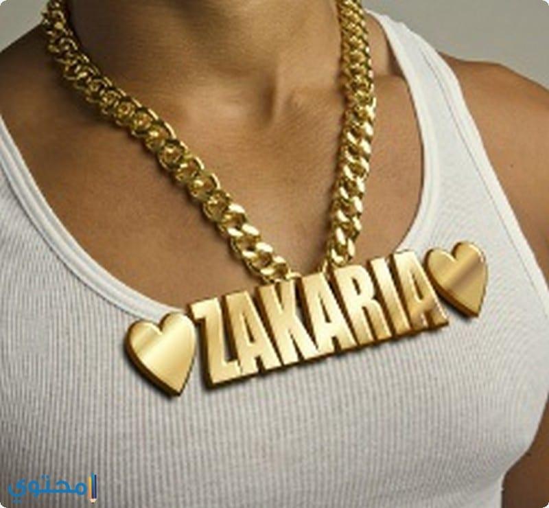 معنى اسم Zakaria