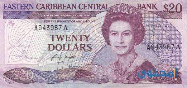 العملة الرسمية في سانت كيتس ونيفيس