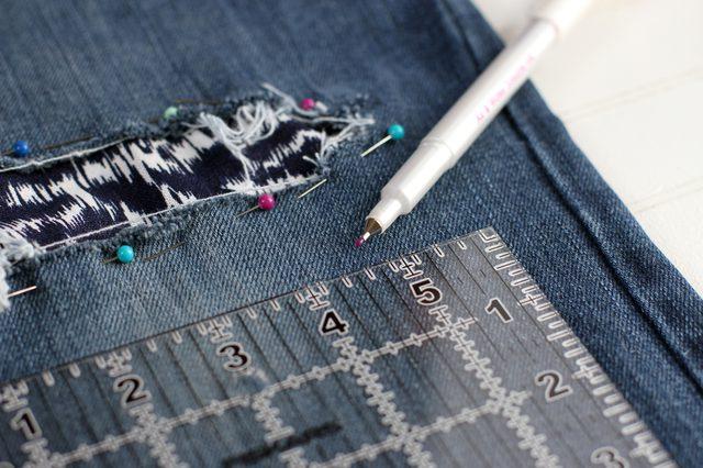 بالصور طريقة تصليح بنطلون جينز في المنزل - موقع محتوى
