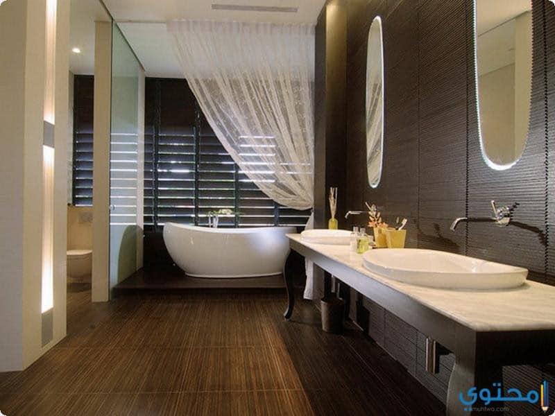 bathroom modern 13 - احدث الوان الدهانات 2018