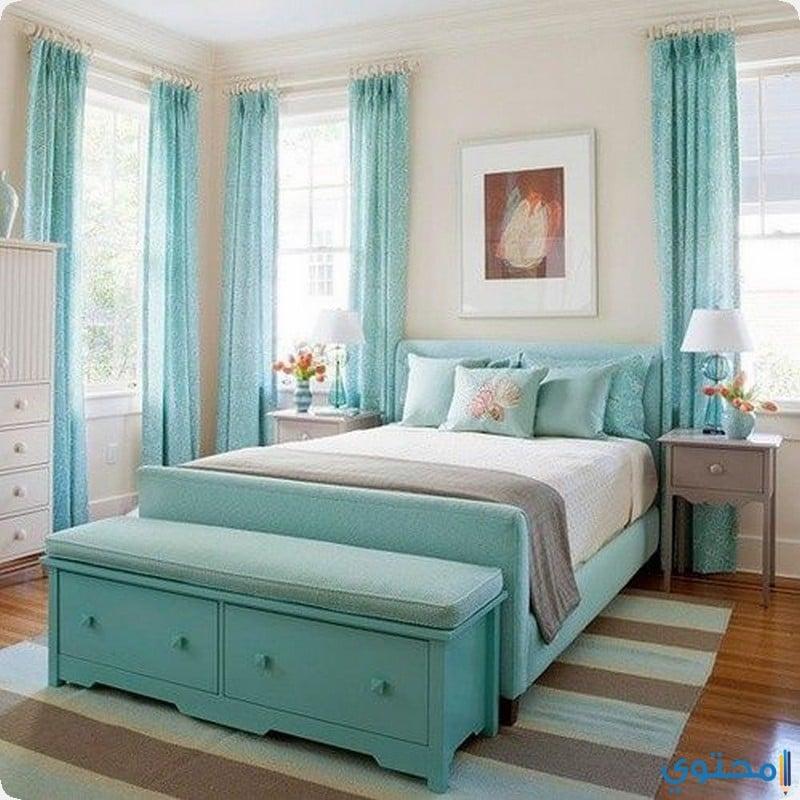 bedroom colors15 - غرف نوم عرسان حديثة 2018