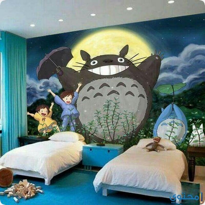 ورق حائط ثري دي لغرفة الاطفال