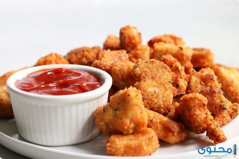 طريقة عمل زنجر الدجاج المقرمش مثل المطاعم