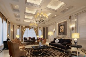 افخم ديكورات المنازل الكلاسيكيه