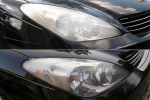 بالصور تنظيف المصابيح الأماميه للسياراة