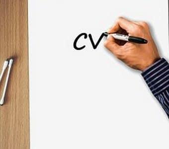 كيفية كتابة cv