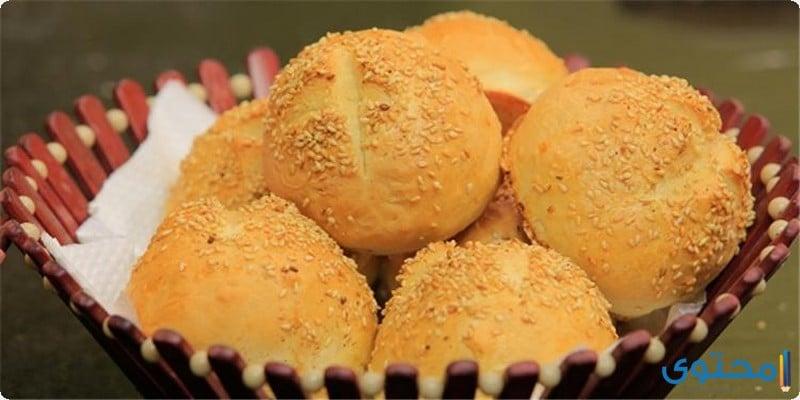 خبز الكيزر الدائري