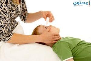 كيف يمكن أعطاء الطفل قطرة العين؟