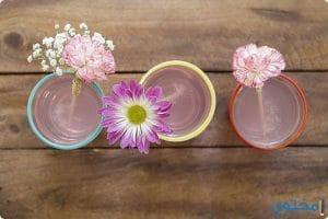 كيف تصنع محرك مشروب (شاليموه ) من الزهور