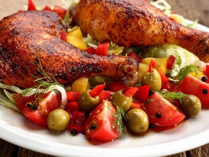 تحضير دجاج التندورى في المنزل بطريقة سهلة