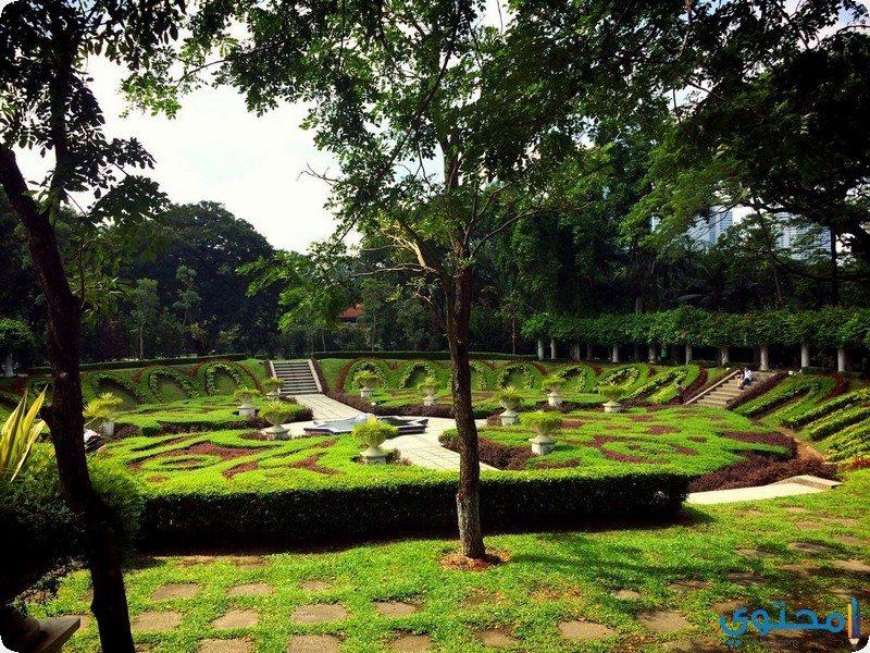 حديقة بحيرة بردانا النباتية كوالالمبور