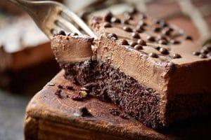 وصفة عمل موس كيك بالشوكولاتة