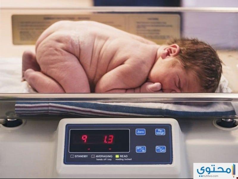 وزن الجنين الطبيعي